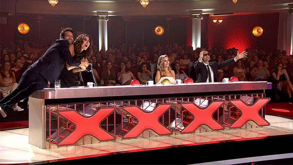 Dani Martínez detuvo la actuación, pero después evitaba criticarla.