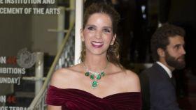Margarita Vargas lució en 2016 el collar del lote subastado.