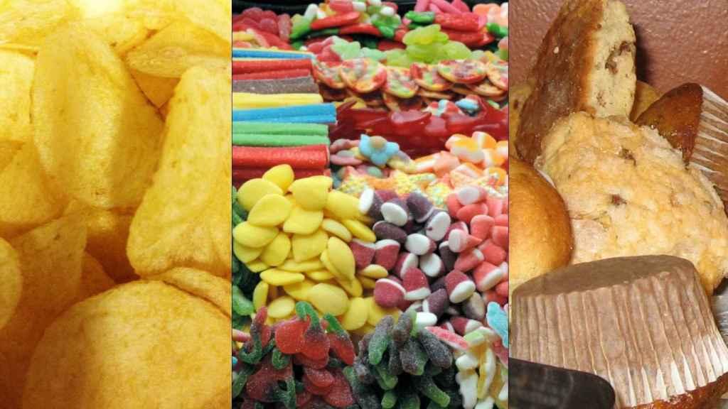 Varios ejemplos de alimentos ultraprocesados - American Heart Association.