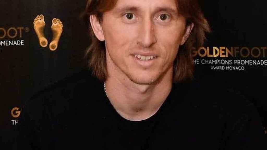 Luka Modric, Golden Foot 2019
