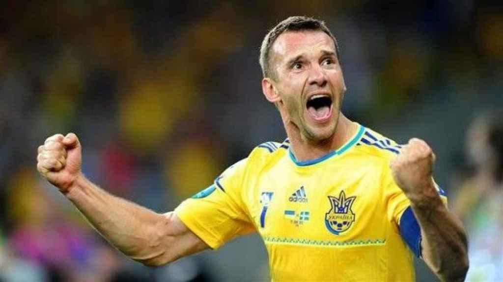 Andriy Shevchenko, Golden Foot 2005