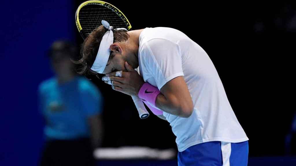 Rafa Nadal, en las ATP Finals 2019