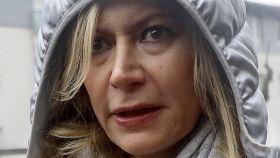 La madre de Diana Quer se ha marchado del juicio visiblemente molesta.