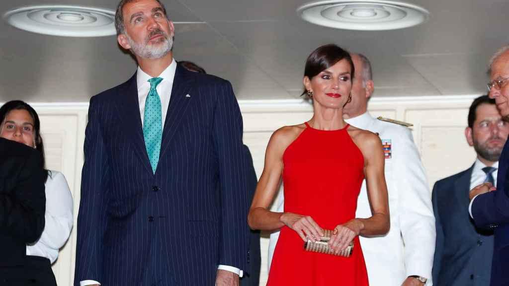 Los Reyes, Felipe y Letizia, en la gala de danza en La Habana.