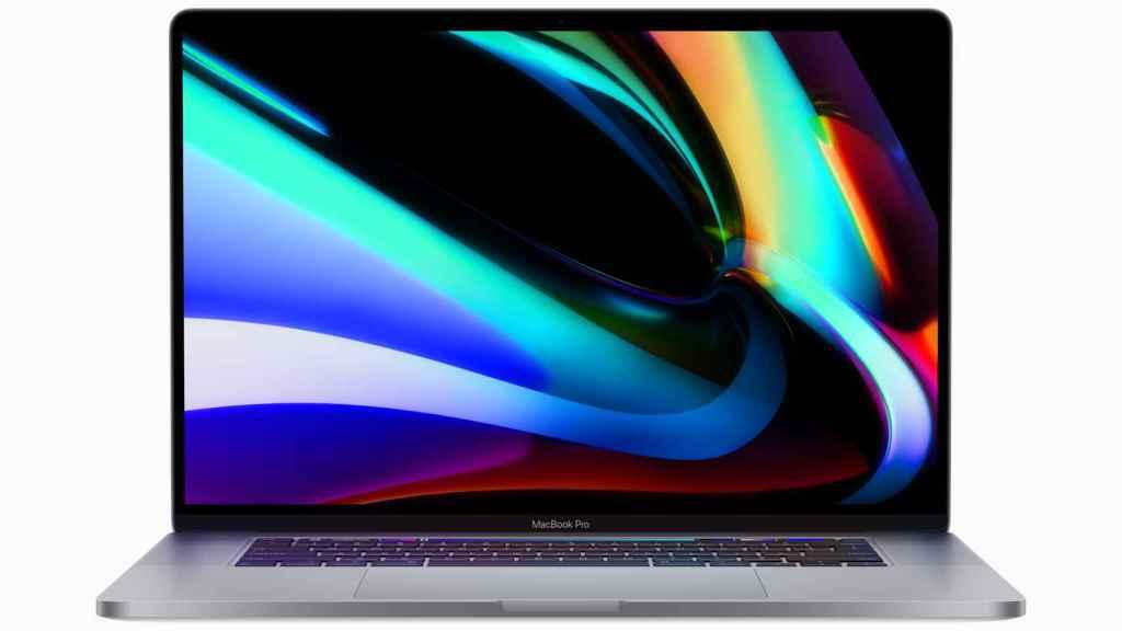 MacBook Pro  de 16 pulgadas.