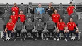 Los futbolistas en activo de la Selección campeona de la Eurocopa 2008