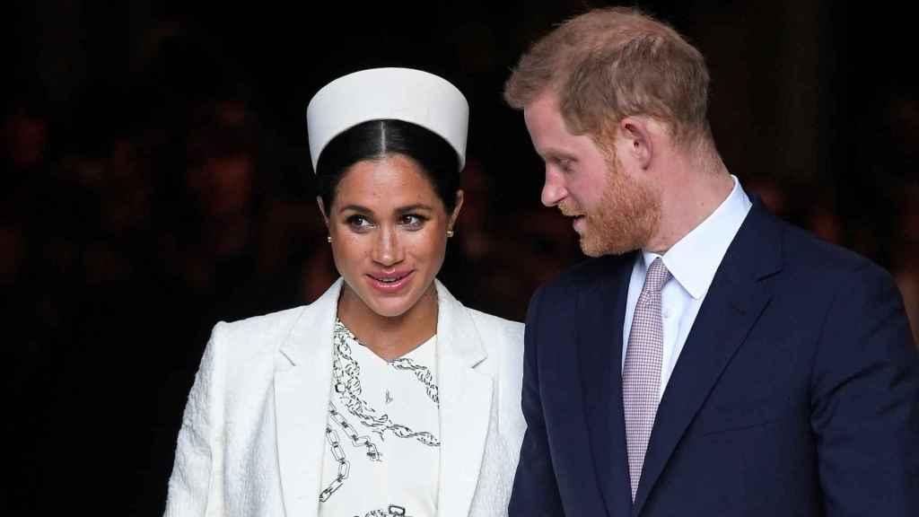 Harry y Meghan Markle anunciaron en enero que daban un paso atrás y dejaban de formar parte de la Familia Real.