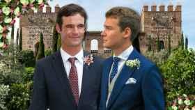 José Bono Jr. y su futuro marido Aitor Gómez, en un montaje de JALEOS