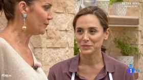 Tamara Falcó durante su intervención en 'MasterChef Celebrity'.