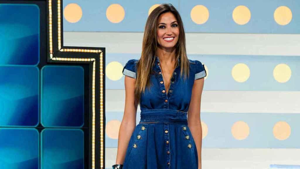 Paloma López fue copresentadora de 'La ruleta de la suerte' desde su estreno en Antena 3.