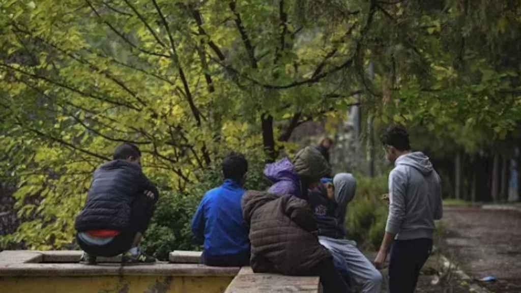Menores Extranjeros No Acompañados, en una imagen de archivo.