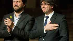 Puigdemont y Comín./