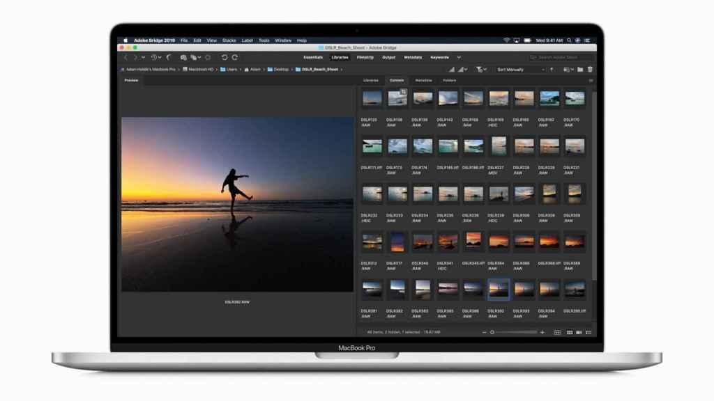Nuevo MacBook de 16 pulgadas.