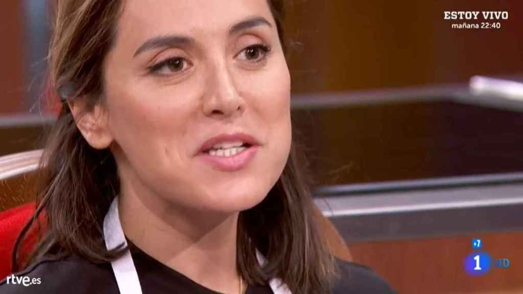 Tamara Falcó durante el programa de este miércoles.