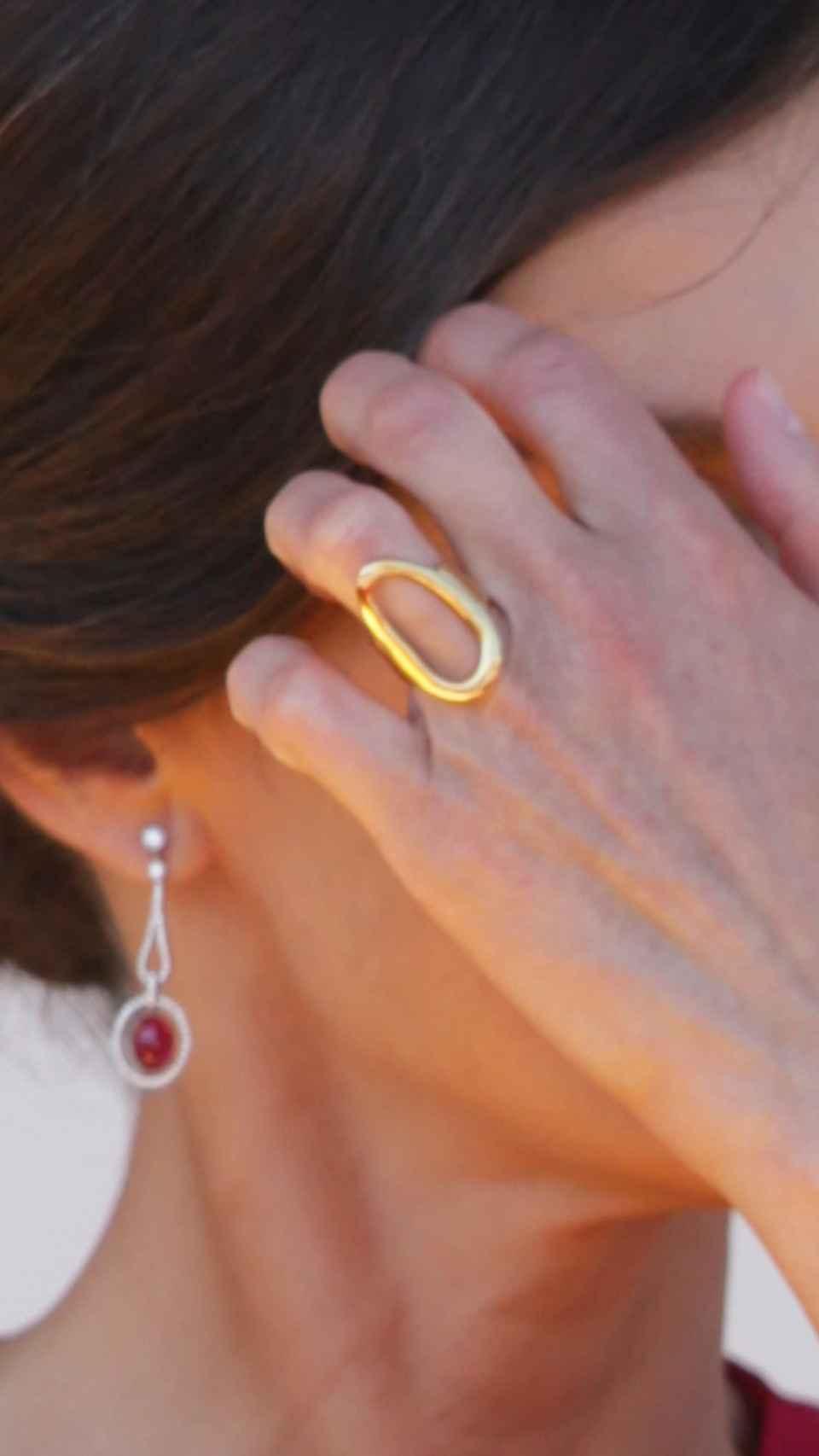El anillo fetiche de Letizia.