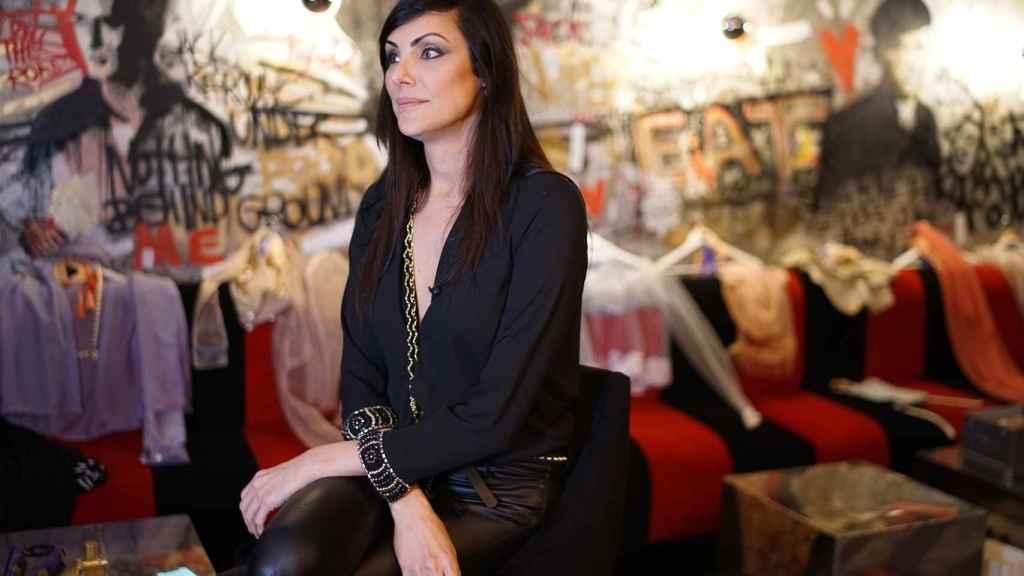 Silvia, diseñadora 'trans' creadora de la marca Translingerie.