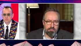 Risto Mejide y Juan Carlos Girauta (Mediaset)