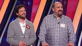 Manolo Romero y Óscar Díaz, de 'Saber y ganar' (RTVE)