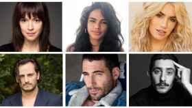 El cast de 'Sky Rojo' (Netflix)