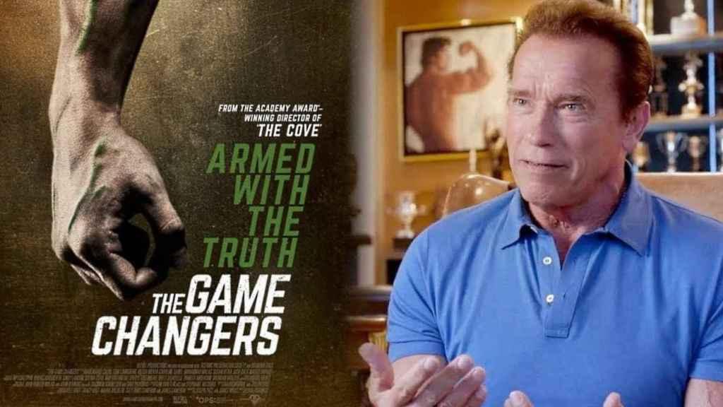 Arnold Schwarzenegger es uno de los productores y protagonistas de 'The Game Changers'.