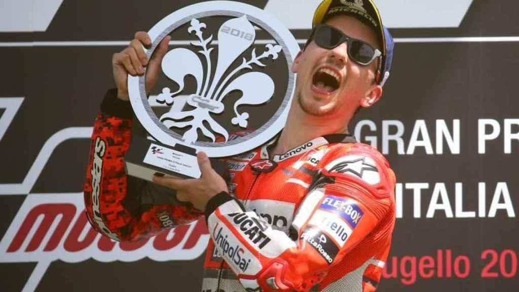 Primera victoria de Jorge Lorenzo con Ducati en Mugello 2018