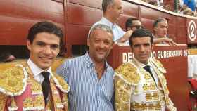 Pablo Aguado, Emilio de Justo y el que fue apoderado de ambos, Luisito