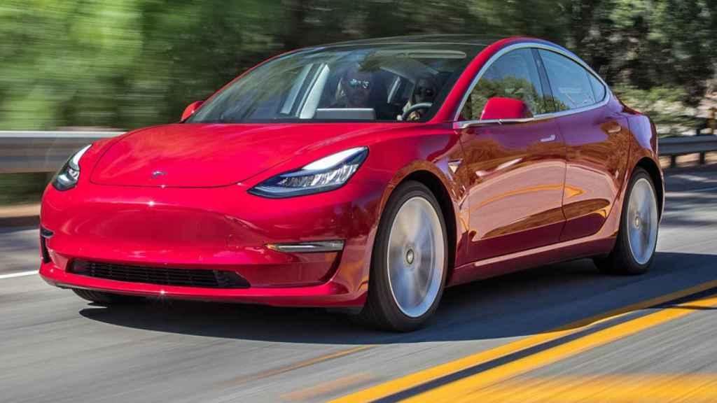 Tesla Model 3, uno de los coches eléctricos de la marca americana.