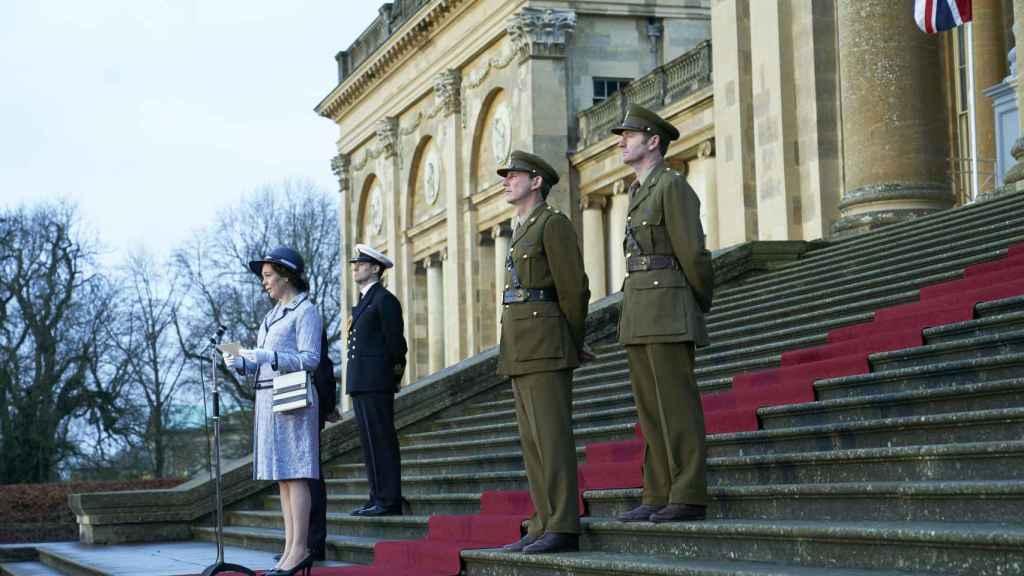 Fotograma de la tercera temporada de 'The crown'