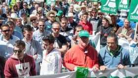 Imagen de archivo de una manifestación de Asaja en Ciudad Real