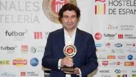 Pepe Rodríguez ha recibido el Premio Nacional de Hostelería