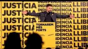 El portavoz de ERC en el Congreso Gabriel Rufián