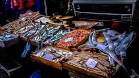 Mercadillo de pescado.