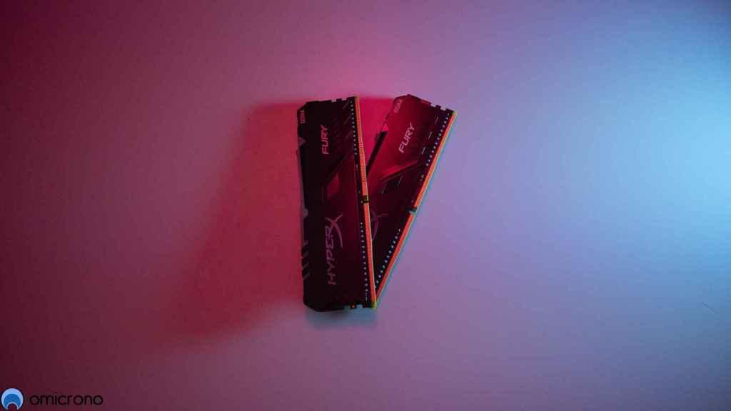 Memorias RAM HyperX.