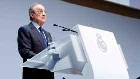 Florentino Pérez,  el acto de entrega de Insgnias del Real Madrid 2019