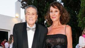Jaime Ostos junto a su mujer, María Ángeles Grajal en uno de sus últimos actos públicos juntos.