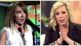 María Patiño y Carmen Borrego en montaje JALEOS.