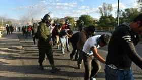 Imagen de los enfrentamientos en Bolivia.