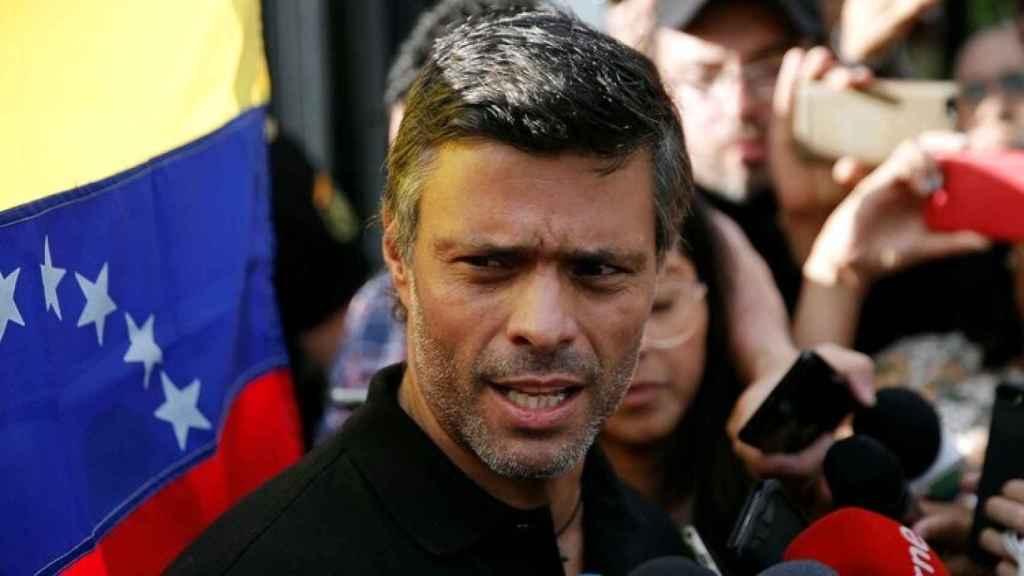Leopoldo López, líder de Voluntad Popular, de la oposición democrática en Venezuela.