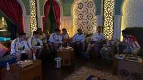 Leo Messi, en Riad con Al-Sheikh