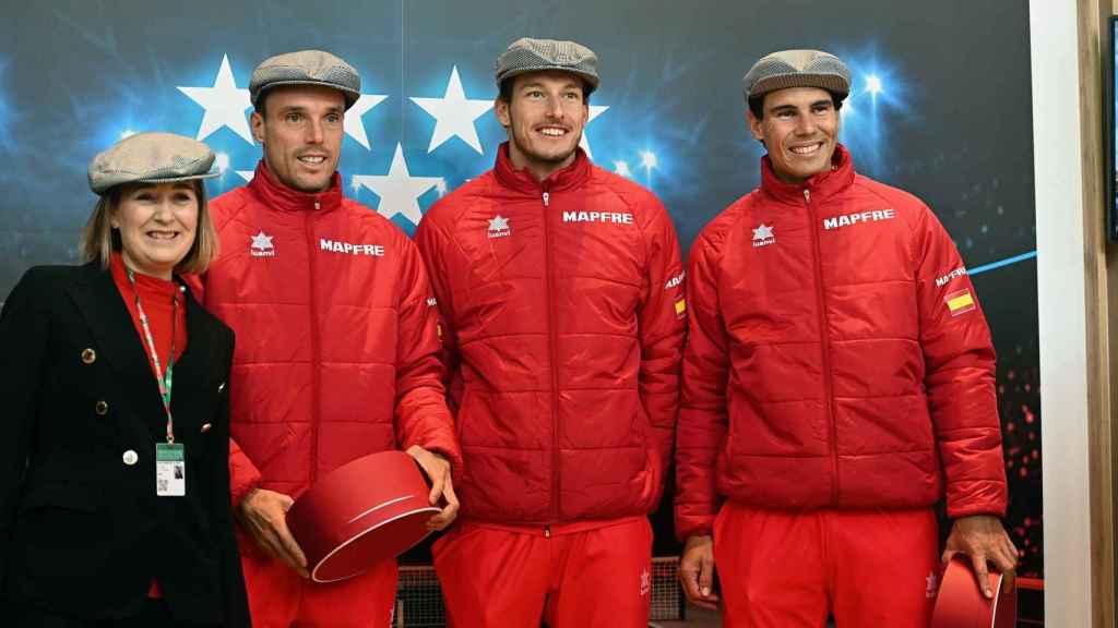 El equipo español, preparado para la Copa Davis