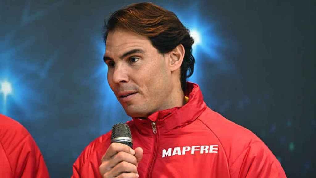 Rafa Nadal habla de cara a la Copa Davis