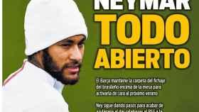 La portada del diario Sport (18/11/2019)