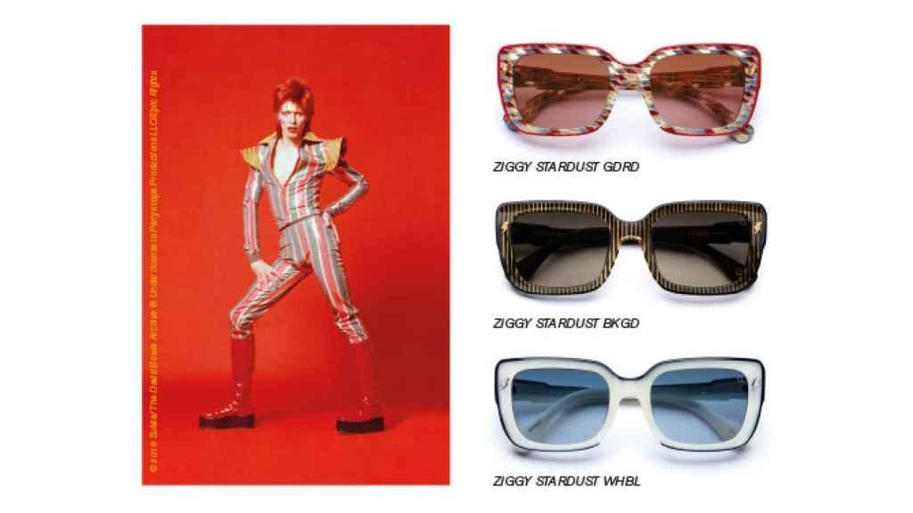 Modelo de gafas Ziggy Stardust.