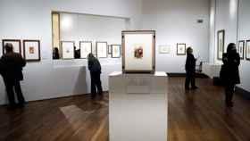 Vista de la exposición 'Goya Dibujos. Solo la voluntad me sobra', en el Museo del Prado.