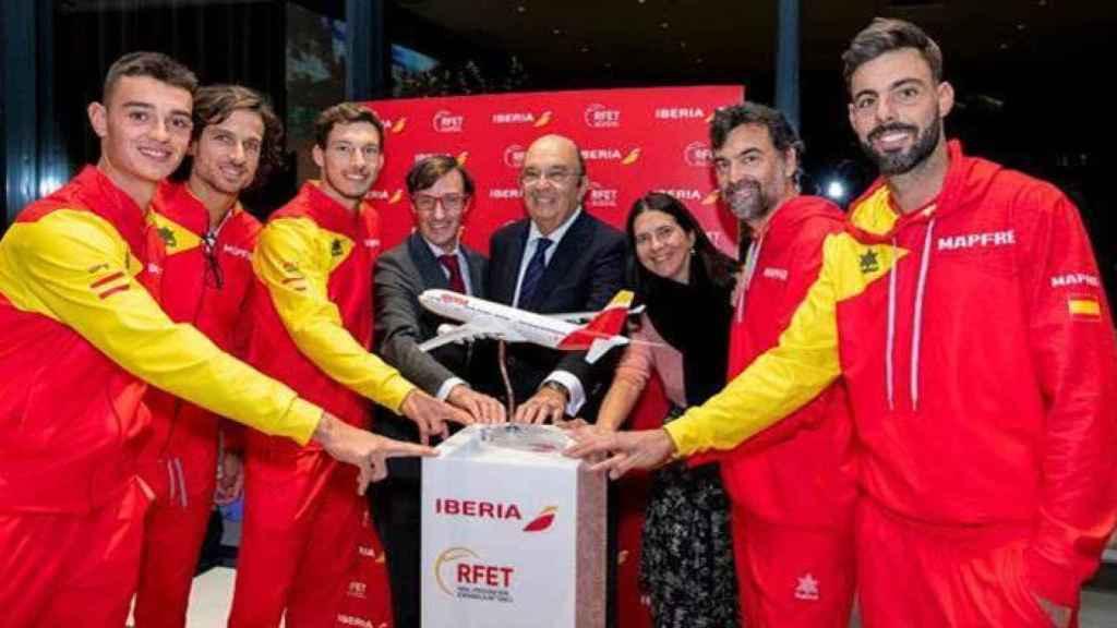 Iberia patrocinará al equipo español de la Copa Davis