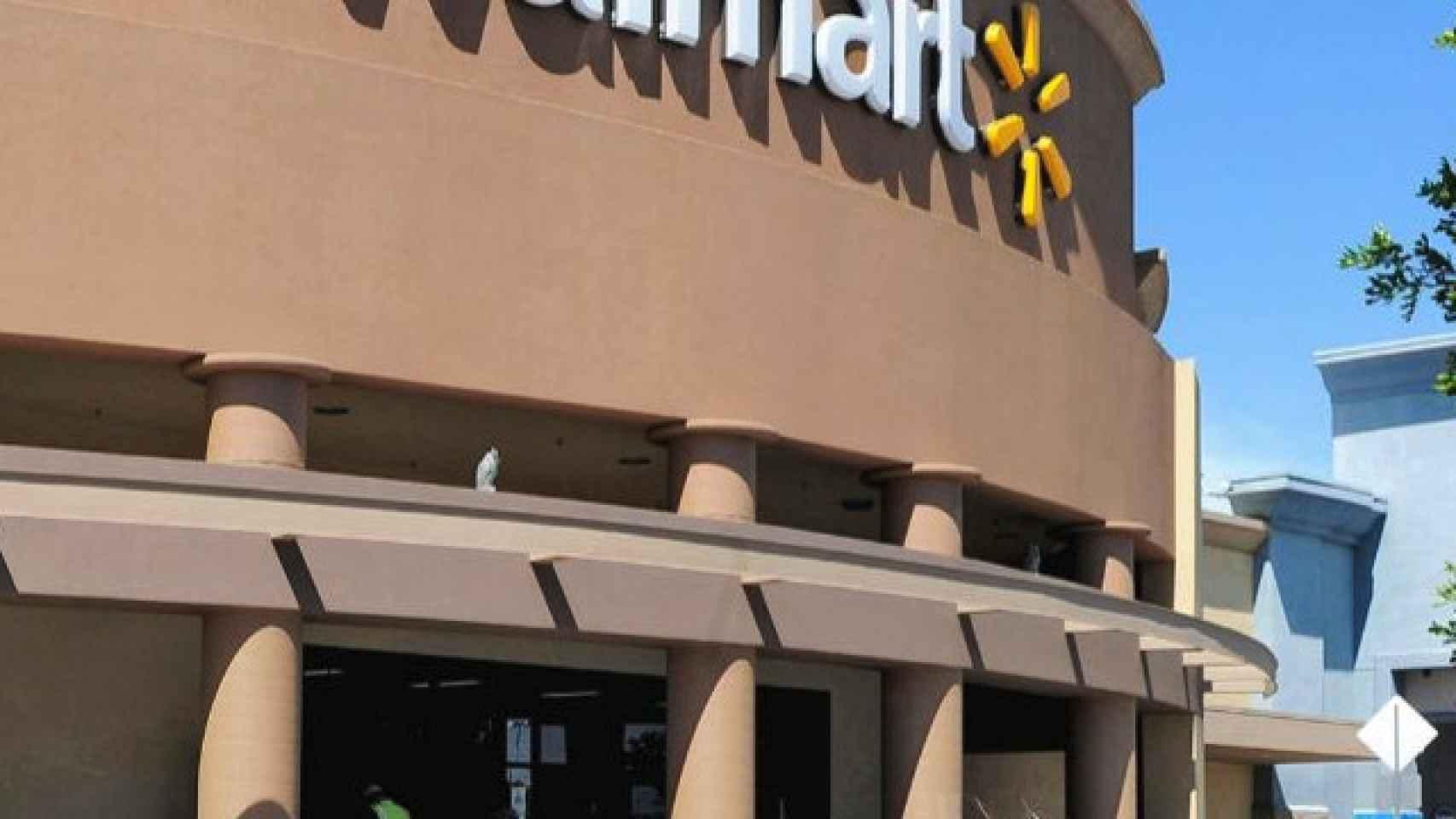 Un edificio de Walmart en una imagen de archivo.