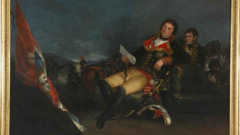 'Godoy como general', un lienzo de Goya.