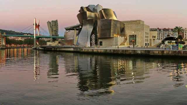 Museo Guggenheim de Bilbao.