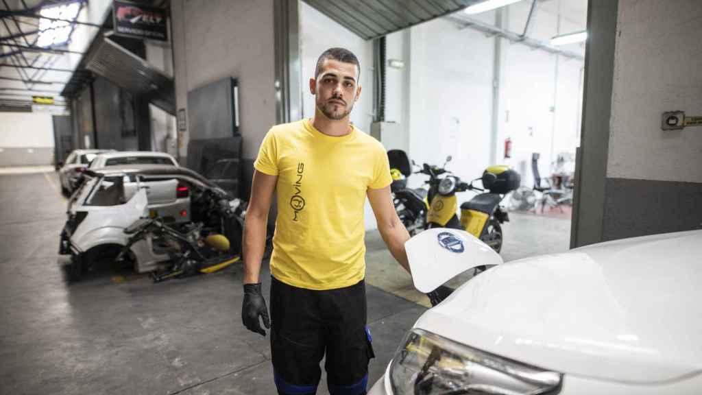 Sergio Díaz estudió FP en Telecomunicaciones y encontró trabajo en Muving.