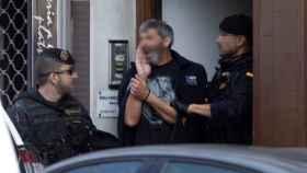 Detención de uno de los miembros de os CDR el pasado septiembre./
